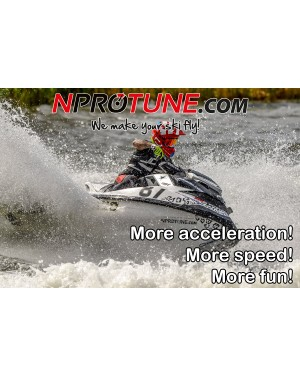 NProtune Sea-Doo RXP/RXT/GTX 300HP - Stage 1 8375rpm